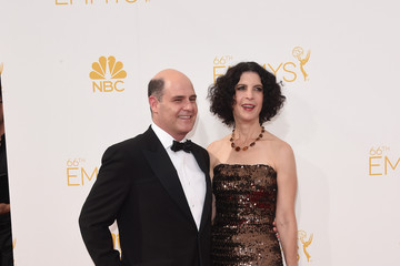 Matthew Weiner Arrivals at the 66th Annual Primetime Emmy Awards — Part 2