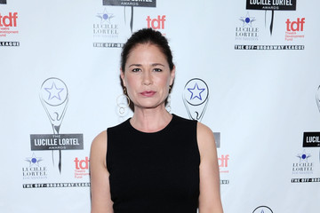 Maura Tierney Arrivals at the Lucille Lortel Awards