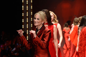 Maureen McCormick The American Heart Association's Go Red For Women Red Dress Collection 2017 Presented By Macy's at Fashion Week in New York City - Runway