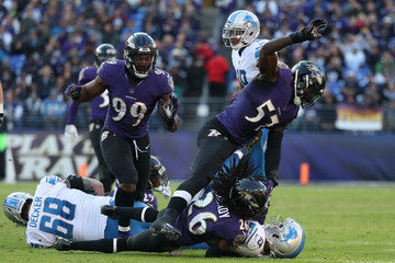 Maurice Canady Detroit Lions v Baltimore Ravens