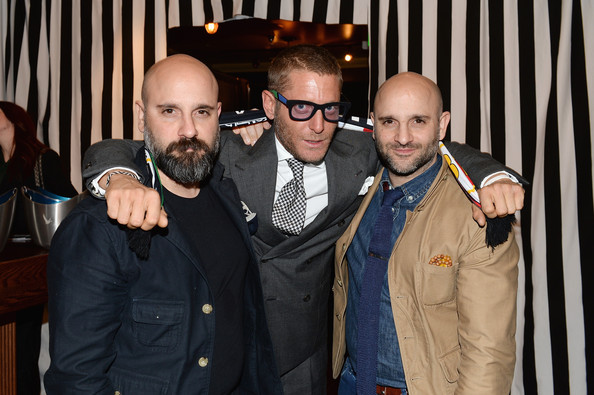 "Lapo Elkann, Marco And Mauro La Villa Host Cocktail Party And Dinner For ""The Art Of Black And White Stripes"" Curated By Lapo Elkann At Rock & Reilly's - 2014 Park City"