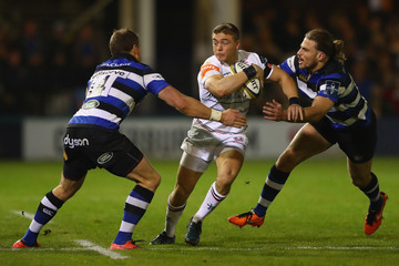 Max Clark Bath v Leicester Tigers - Anglo-Welsh Cup