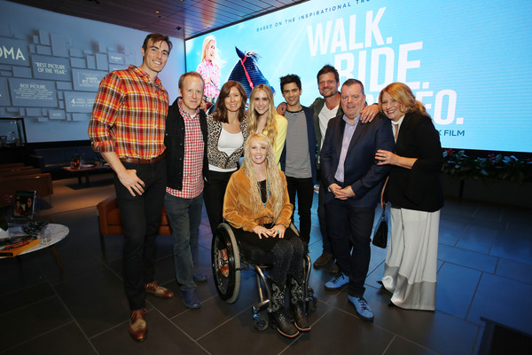 Max Ehrich And Amberley Snyder Photos Photos Walk Ride