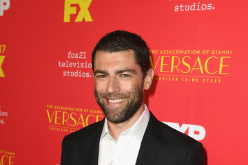 Max Greenfield Premiere Of FX's 'The Assassination Of Gianni Versace: American Crime Story' - Red Carpet