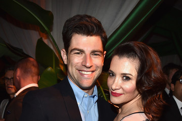 Max Greenfield FOX, 20th Century FOX Television, FX Networks And National Geographic Channel's 2014 Emmy Award Nominee Celebration