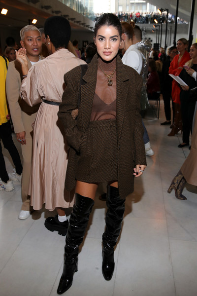 Max Mara - Arrivals & Front Row - Milan Fashion Week Spring/Summer 2020