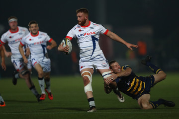 Max Stelling Worcester Warriors v Sale Sharks - Anglo-Welsh Cup