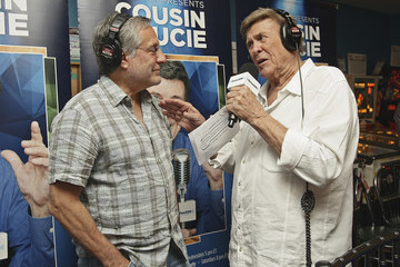 Max Weinberg Cousin Brucie Hosts His SiriusXM Show Cousin Brucie's Saturday Rock and Roll Party Live From the Silverball Pinball Museum in Delray Beach, Florida
