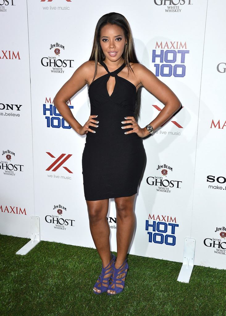 ¿Cuánto mide Angela Simmons? - Altura - Real height Maxim+Hot+100+Party+Arrivals+SVuwtsbbMZQx