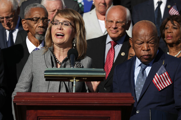 House Democrats Holds Press Event Honoring Las Vegas Shooting Victims and Call for Increased Gun Safety Legislation