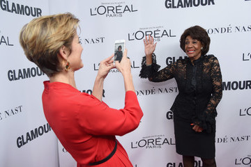 Maxine Waters Glamour Celebrates 2017 Women of the Year Awards - Arrivals