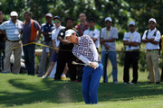 Ryo Ishikawa of Japan in action during day four of the Maybank Championship Malaysia at Saujana Golf and Country Club on February 4, 2018 in Kuala Lumpur, Malaysia.