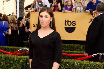 Mayim Bialik 21st Annual Screen Actors Guild Awards - Arrivals
