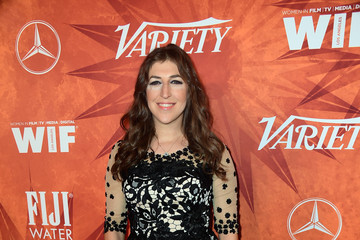 Mayim Bialik Variety and Women in Film Annual Pre-Emmy Celebration - Arrivals