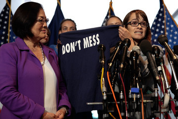 Mazie Hirono Former Classmates Of Christine Blasey Ford Gather On Capitol Hill In Show Of Support Over Her Claims Against Brett Kavanaugh