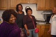 Deborah, Alfreda, Regina and Ann McCrary of The McCrary Sisters sing and prepare food during The McCrary Sisters Soul Food CD Release Feast on March 10, 2015 in Nashville, Tennessee.