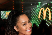 """La La Anthony attends """"McDonald's Celebrates The Big Game Weekend with Bootsy Bellows and Post Malone"""" on January 31, 2020 in Miami, Florida."""