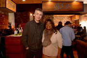 Steve James (L) and Chaz Ebert attend McDonald's McCafe Presents The Village At The Lift on January 19, 2014 in Park City, Utah.