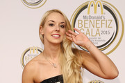 Sabine Lisicki attends the McDonald's charity gala on November 13, 2015 in Cologne, Germany.