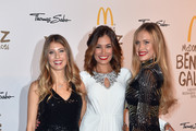 Cathy Hummels, Jana Ina Zarella and Alena Gerber during the McDonald's charity gala at Hotel Bayerischer Hof on October 21, 2016 in Munich, Germany.