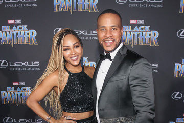 Meagan Good The Los Angeles World Premiere of Marvel Studios' 'Black Panther'