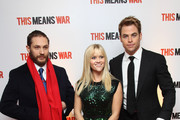 Chris Pine and Tom Hardy Photos Photo