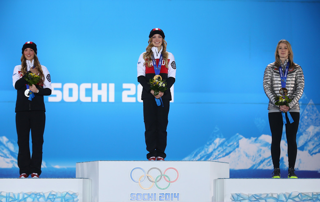 Justine dufour lapointe wins gold