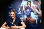 Laureus Academy Member Missy Franklin speaks during Media Interviews for the 2019 Laureus World Sports Awards on February 17, 2019 in Monaco, Monaco.