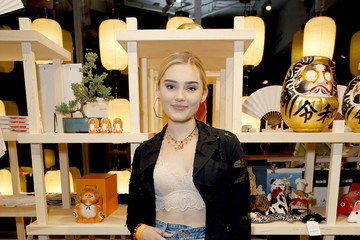 Meg Donnelly BEAMS JAPAN US Launch At Fred Segal Sunset