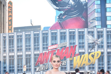 """Meg Donnelly Los Angeles Global Premiere For Marvel Studios' Ant-Man And The Wasp"""""""