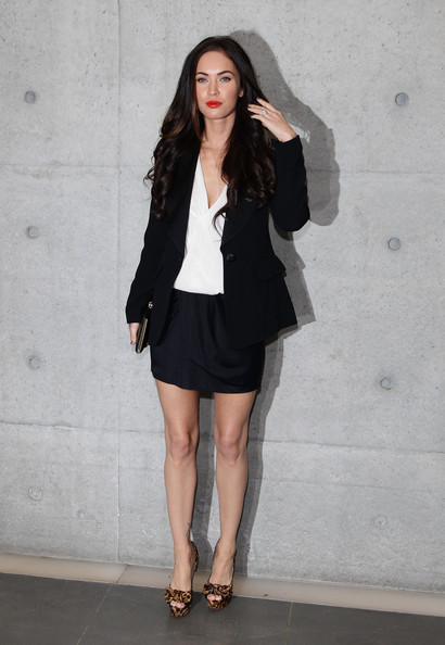 Megan Fox Megan Fox attend the Emporio Armani Womenswear Spring/Summer 2011 ...