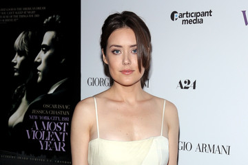 Megan Boone 'A Most Violent Year' Premieres in NYC