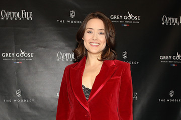 Megan Boone Capitol File Holiday Issue Celebration With Megan Boone At The Woodley