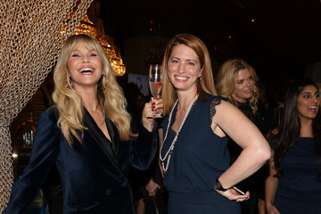 Megan Driscoll Cocktails With Christie Brinkley & Merz Aesthetics