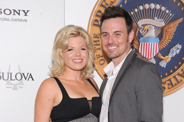 Megan Hilty with friendly, clever, calm, Wife Brian Gallagher