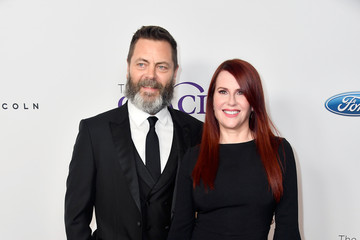 Megan Mullally Nick Offerman 43rd Annual Gracie Awards - Arrivals
