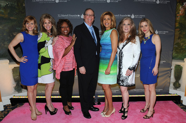 Arrivals at the Women of Influence Awards [event,yellow,fashion,fun,dress,competition,recreation,carpet,premiere,leisure,arrivals,hoda kotb,charlie feldman,megan sikora,robin quivers,laura heatherly,kerry butler,l-r,t.j.,martell foundations women of influence awards]