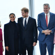 Meghan Markle The Duke And Duchess Of Sussex Visit One World Observatory With NYC Mayor Bill De Blasio