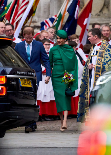Commonwealth Day Service 2020 [flag,event,uniform,ceremony,plant,military,vehicle,military officer,official,holiday,harry,meghan,people,service,commonwealth,sussex,countries,duchess,duke of sussex,commonwealth day service,outerwear,socialite,profession]