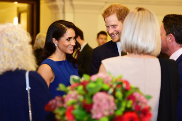 """Meghan Markle The Duke & Duchess Of Sussex Attend """"100 Days Of Peace"""" Commemorative Concert"""