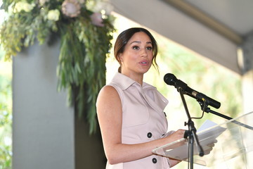 Meghan Markle The Duke And Duchess Of Sussex Visit Johannesburg - Day Two