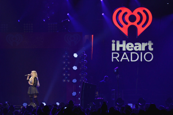KISS 108's Jingle Ball 2014 - Show [entertainment,performance,violet,stage,purple,electric blue,performing arts,event,magenta,talent show,meghan trainor,boston,massachusetts,td garden,kiss 108,market basket supermarkets,jingle ball 2014 - show]