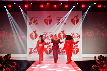 Meghan Trainor The American Heart Association's Go Red For Women Red Dress Collection 2020 - Runway