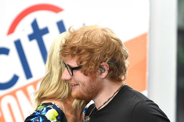 "Megyn Kelly Ed Sheeran Performs On NBC's ""Today"""