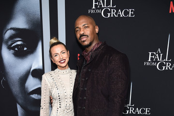 "Mehcad Brooks Tyler Perry's ""A Fall From Grace"" New York Premiere"