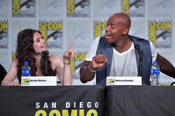Mehcad Brooks 2019 Comic-Con International - 'Supergirl' Special Video Presentation And Q&A