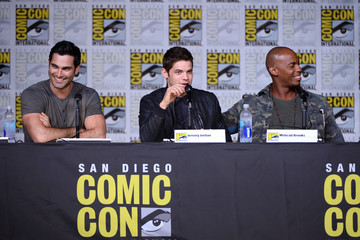 Mehcad Brooks Comic-Con International 2016 - 'Supergirl' Special Video Presentation And Q&A