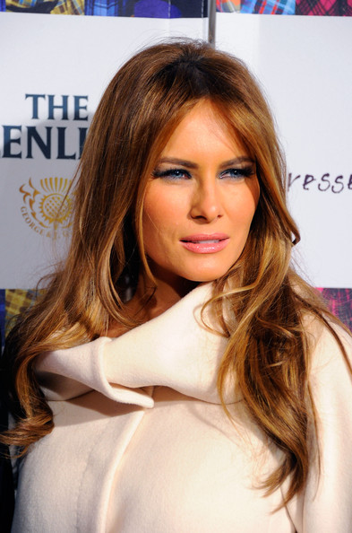 Pin Melania Trump Attends The Black Eyed Peas Launch The Samsung 3d ...