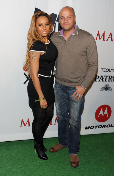 Melanie Brown TV Personality Melanie Brown and husband Stephen Belafonte attend the Maxim Party Powered by Motorola Xoom at Centennial Hall at Fair Park on February 5, 2011 in Dallas, Texas.
