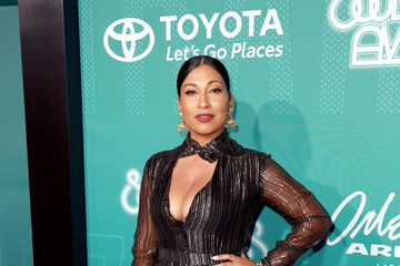 Melanie Fiona BET Presents: 2017 Soul Train Awards - Red Carpet & Arrivals